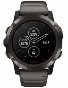 Smartwatch barbatesc Garmin Fēnix® 5 Plus 010-01989-05