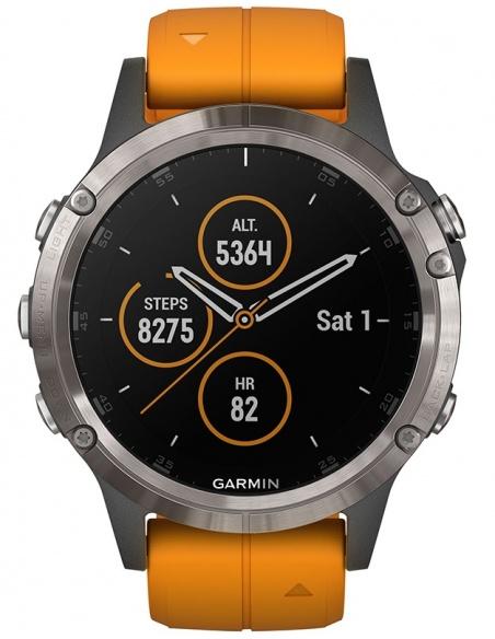 Smartwatch barbatesc Garmin Fēnix® 5 Plus 010-01988-05
