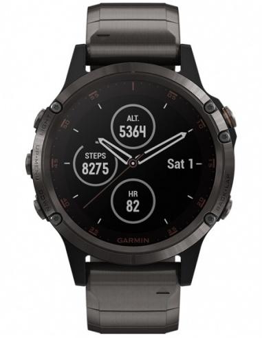 Smartwatch barbatesc Garmin Fēnix® 5 Plus 010-01988-03