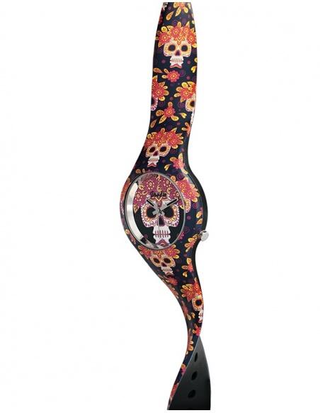 Ceas de dama Doodle Santa Muerte Mood DO35015