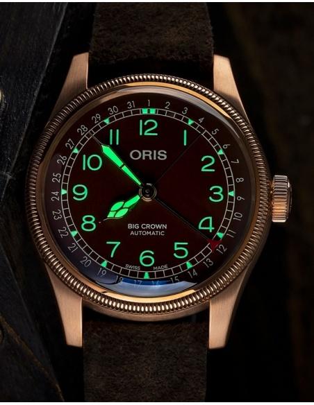 Ceas barbatesc Oris Aviation 75477413166-0752074BR
