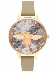Ceas de dama Olivia Burton Marble Floral OB16CS22