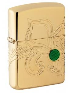 Bricheta Zippo 49108 Fleu-De-Lis Design