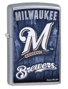 Bricheta Zippo 29971 MLB Milwaukee Brewers
