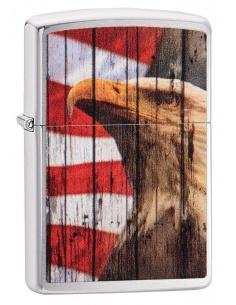 Bricheta Zippo 49133 Patriotic Eagle