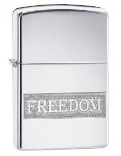 Bricheta Zippo 49129 Etched Freedom Design