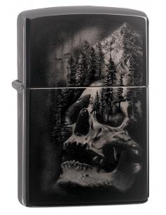 Bricheta Zippo 49141 Skull Mountain Design