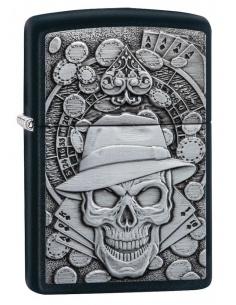 Bricheta Zippo 49183 Gambling Skull