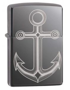 Bricheta Zippo 49028 Anchor Design