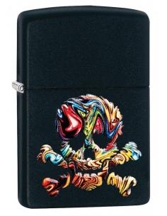 Bricheta Zippo 49187 Skull Design
