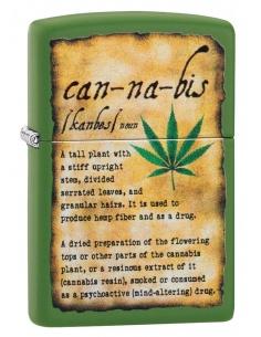 Bricheta Zippo 49119 Cannabis Design