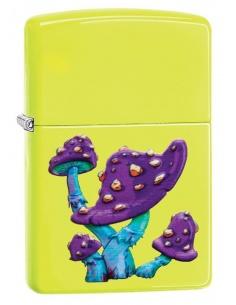 Bricheta Zippo 49189 Textured Mushroom Design
