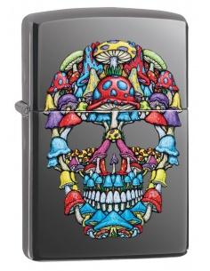 Bricheta Zippo 49135 Skull Design