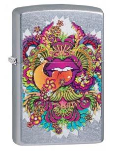 Bricheta Zippo 49110 Psychedelic Lip Design