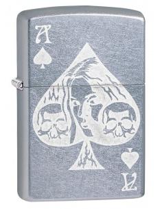 Bricheta Zippo 49113 Ace of Spades Goth