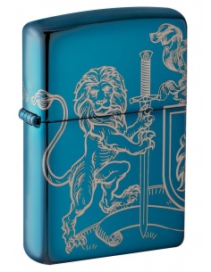 Bricheta Zippo 49126 Medieval Coat of Arms Design