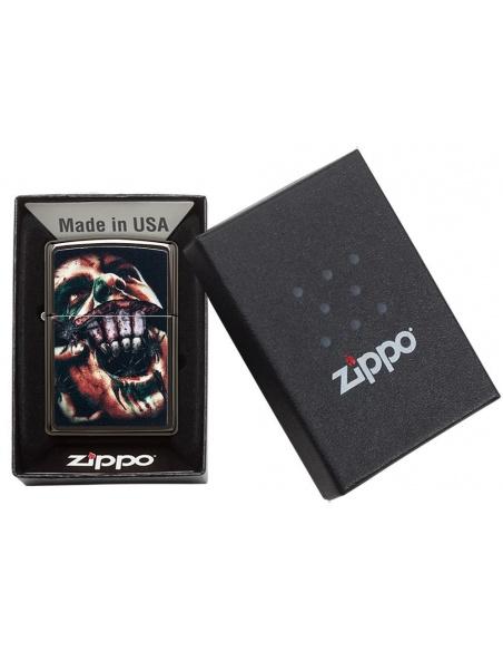 Bricheta Zippo 49117 Split Face Design