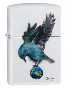 Bricheta Zippo 49091 Spazuk Bluebird and Globe