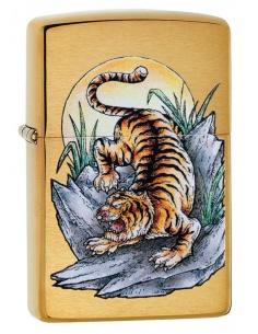 Bricheta Zippo 49116 Tiger Tattoo Design