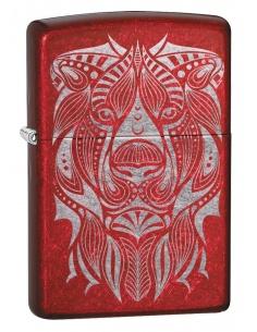 Bricheta Zippo 49109 Lion Tattoo Design