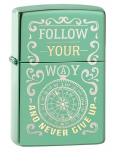 Bricheta Zippo 49161 Follow Your Way Design