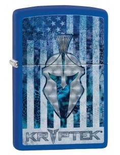 Bricheta Zippo 49179 Kryptek Logo On American Flag