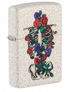 Brichetă Zippo 49252 Floral Skeleton