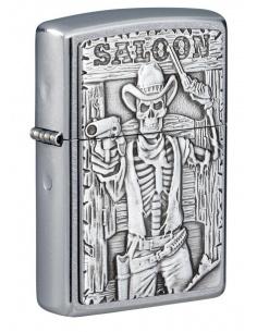Brichetă Zippo 49298 Saloon Skull Emblem