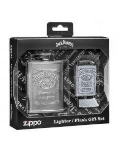 Set cadou brichetă Zippo + butelcă inox 49349