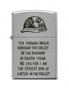 Brichetă Zippo 0684 Military - Walk Through the Valley of Shadow of Death