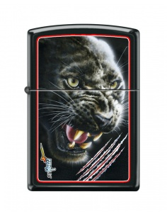 Brichetă Zippo 9110 Claudio Mazzi - Black Panther