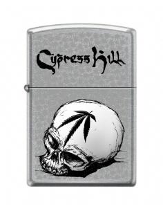 Brichetă Zippo 9678 Cypress Hill - Skull and Leaf