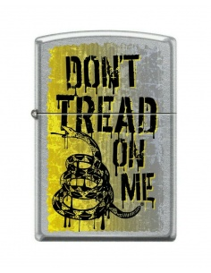 Brichetă Zippo 9968 Don't Tread On Me - Gadsden Flag