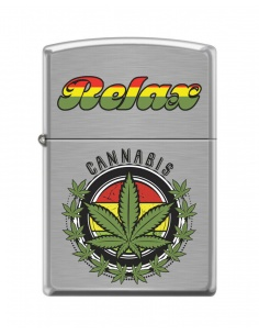 Bricheta Zippo 7802 Relax Cannabis