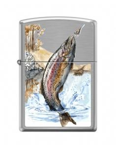 Bricheta Zippo 2187 Jumping Rainbow Trout