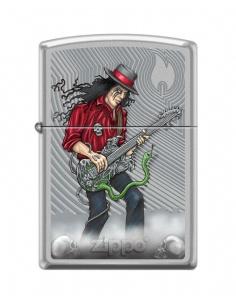 Bricheta Zippo 3842 Guitar Man With Snake