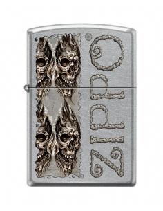 Bricheta Zippo 0742 Skulls With Zippo