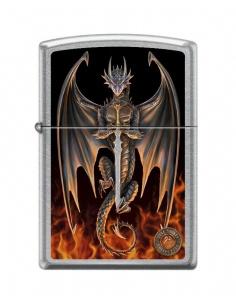 Bricheta Zippo 7755 Anne Stokes Flames & Dragon