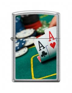 Bricheta Zippo 6876 Pocket Aces - Poker