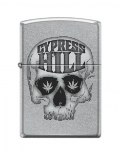 Bricheta Zippo 9682 Cypress Hill Skull and Leaf