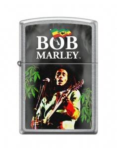 Bricheta Zippo 0938 Bob Marley Jamaican Flag & Weed