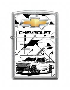 Bricheta Zippo 1116 Chevrolet Truck With Logo