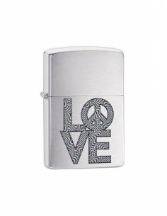 Brichetă Zippo 200.CI407907 Love and Peace